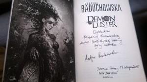 """""""Demon Luster"""" z dedykacją dla Książnicy"""