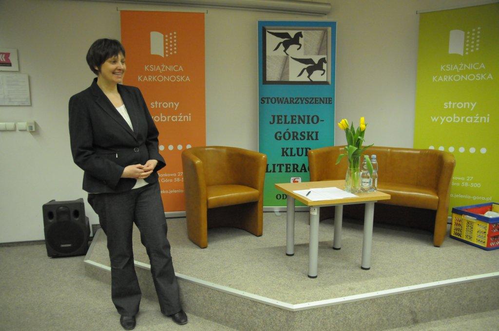 Alicja Raczek, dyrektor Książnicy Karkonoskiej
