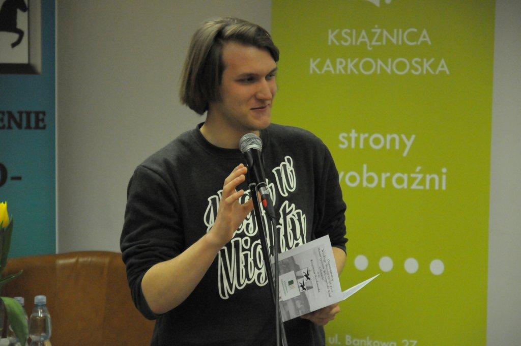 Tomasz Taf - MŁODE PIÓRO 2015