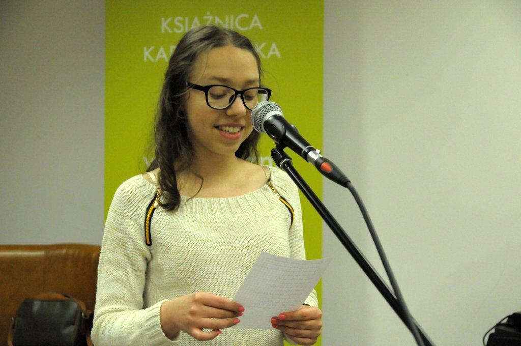 Julia Siedliska - ZŁOTE PIÓRO 2015