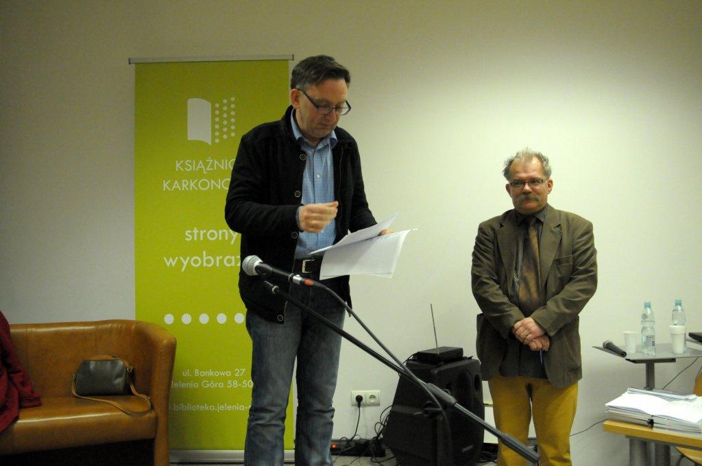 Arkadiusz Włodarski  - Złote Pióro 2014
