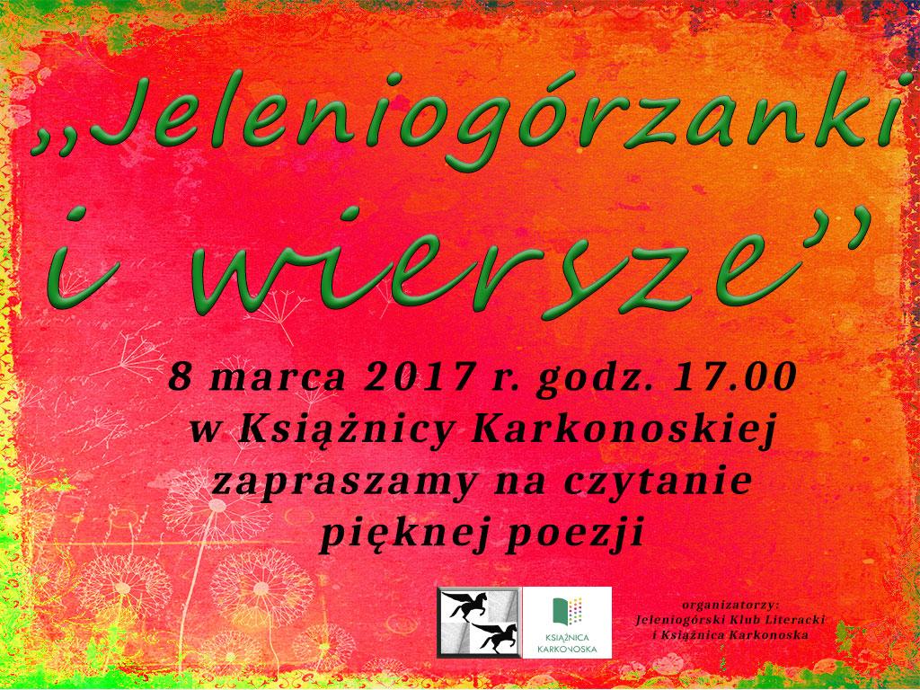 Jeleniogórzanki I Wiersze Książnica Karkonoska